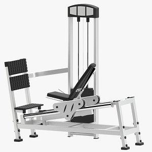 atlantis leg press 3D