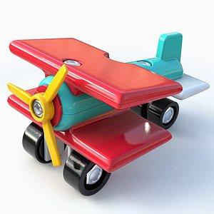 3D Toy Aeroplane