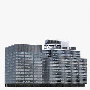 3D JPMorgan Chase V4 Lowpoly