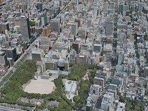 nagoya city 3D model