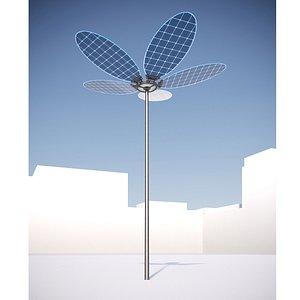 3D solar light -