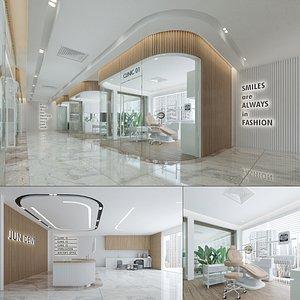 Dental Clinic Modern Interior 3D model