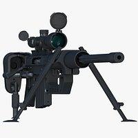 CheyTac M200 Intervention Military Sniper Rifle 8K