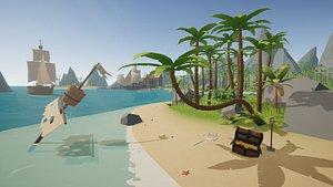 Nature Environment - Tropical 3D model