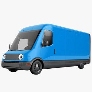Generic Electric Delivery Van 03 model