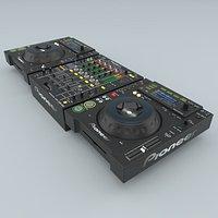 DJ  Pioneer black