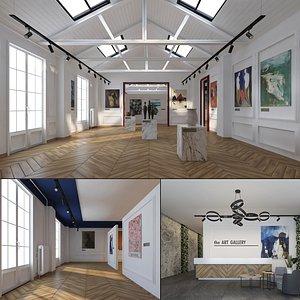 gallery art 3D