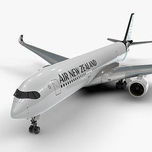 a350-900 air new zealand 3D model