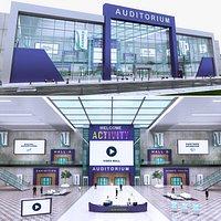Realistic Virtual Auditorium Centre 8