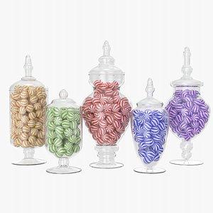 candy jar model