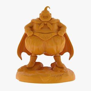 3D Majin Buu Fat 3D Print