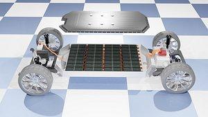 vehicle platform 3D model