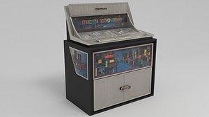 seeburg discotheque jukebox 3D