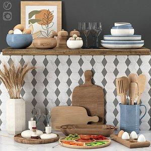 3D kitchen accessories 002