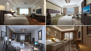 Hotel Room Collection 1 3D model