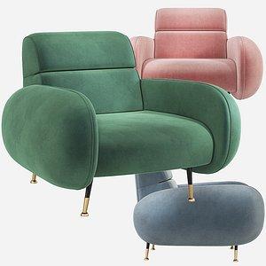 3D marco armchair chair