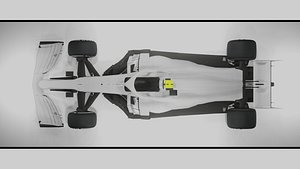 3D Generic F1 2021 Car model