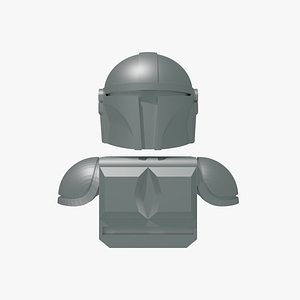 3D bricks mando model