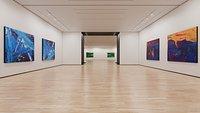 Art Museum Gallery Interior 2