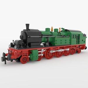 3D lego steam engine