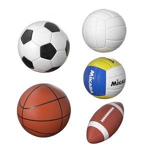 sport ball 3D model