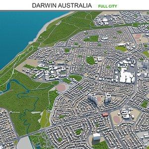 Darwin Australia 3D model