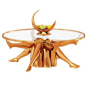 3D Superluxe Isadora Table model
