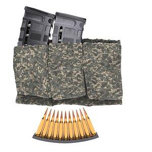 magazine bullets pouch 3D model