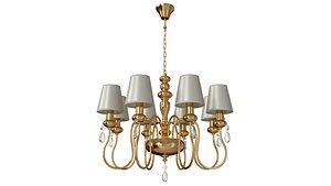 3D Hanging chandelier Meki 4723-8
