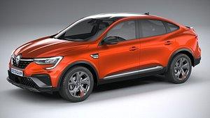 3D Renault Arkana RS-line 2022