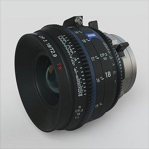 3D model Lens Zeiss