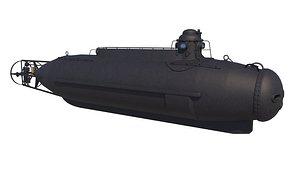 submarine nishimura 3D model