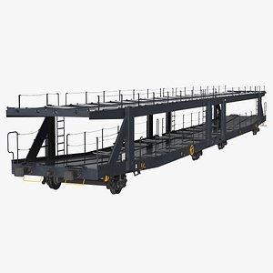 autorack car transporter auto 3D model