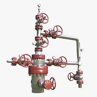 Oil wellhead 2