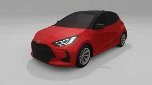 toyota yaris 2021 3D model