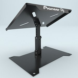 3D Pioneer Rack for a DJ booth DJC-STS1