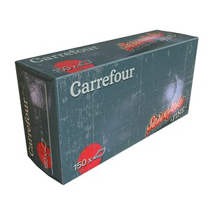 Carrefour Napkin Box 3D model