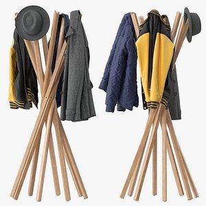 clothing jacket shirt 3D model
