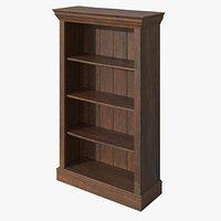 Palisander Victorian Bookcase