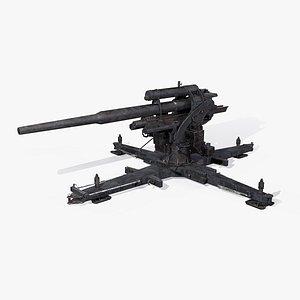 3D war 2 aa gun