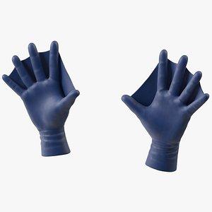 Swimming Gloves Dry model