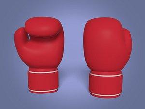 3D Cartoon Boxing Gloves