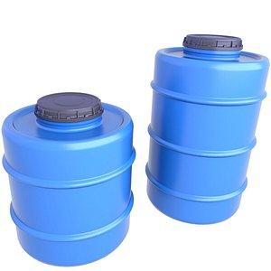 3D Water Tank 2 model