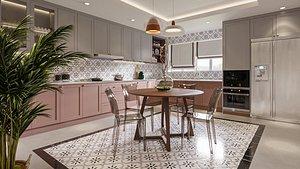 3D kitchen decor