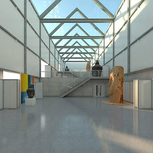 3D art gallery