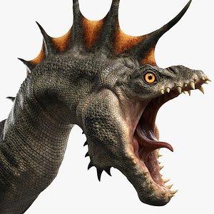 Dragon Head 3D model