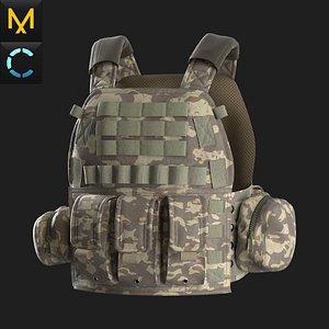 3D Tactical Vest 1