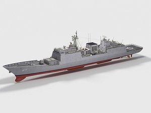 ROKS Dae Jo-yeong DDH-977 KDX-2 Class 3D model