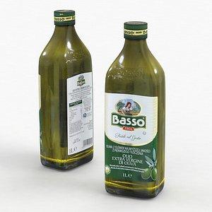 olive vergine olio 3D model
