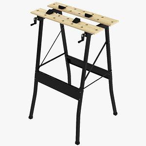 3D Workbench model